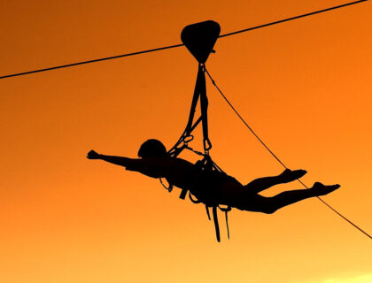 Highwire activities at Victoria Falls