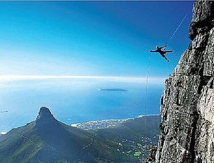 Things to do with Kids in Cape Town - abseil africa