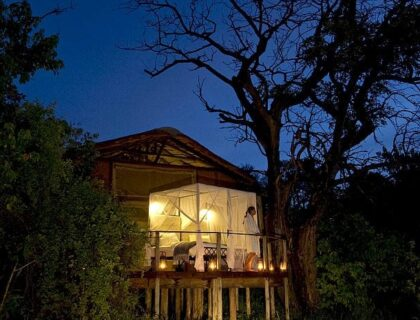 Best Sleep-Outs in Africa - Baines Camp