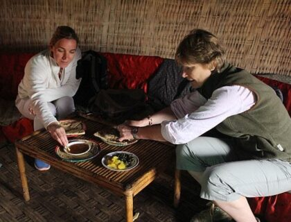 Visit Ethiopia - Kate's visit coffee ceremony in Bale Mountains Ethiopia