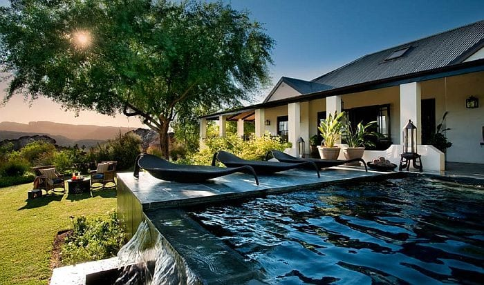 Bushmans Kloof Koro Lodge-exterior-view-with-pool