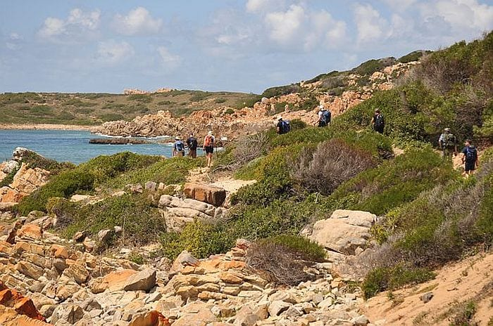 Walking the Oystercatcher trail, slackpacking walking tour on the Garden Route South Africa