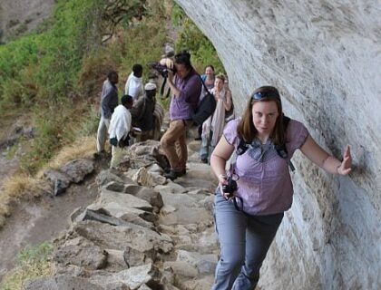 Hiking to a monastery near Lalibela, Ethiopia tours & holiday packages