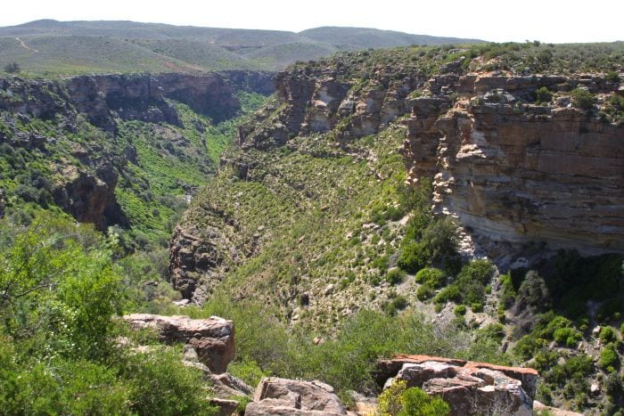 The Road Less Travelled in South Africa Namaqualand-Nieuwoudtville-waterfall-700