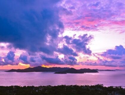 best-beaches-in-the-Seychelles-Island Praslin Seychelles At Sunset