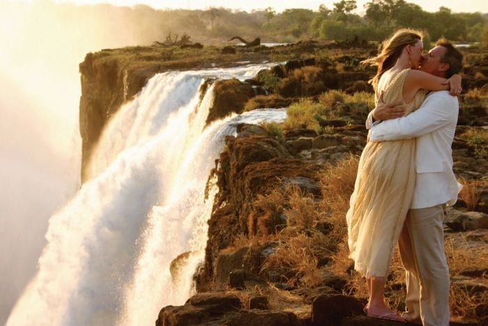 Weddings at Victoria Falls, weddings in africa