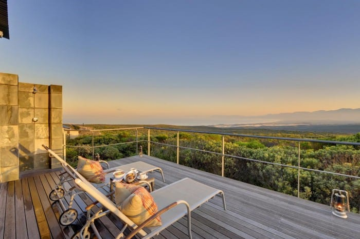 Grootbos Forest Lodge - Deck