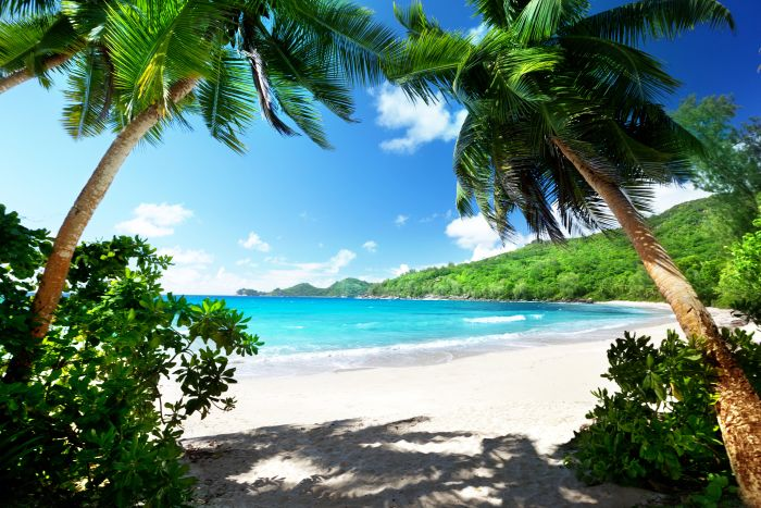Safari and Beach Holidays - Takamaka beach,, Mahe island, Seychelles